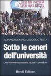 Sotto le ceneri dell'università. Una riforma necessaria, quasi impossibile