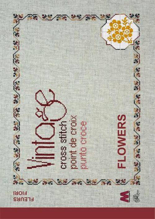 Fiori In Inglese.Vintage Cross Stitch Flowers Fiori Ediz Italiana Inglese E