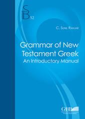 Grammar of the New testament greek. An introductory manual