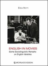 English in movies. Some sociolinguistic remarks on english varieties