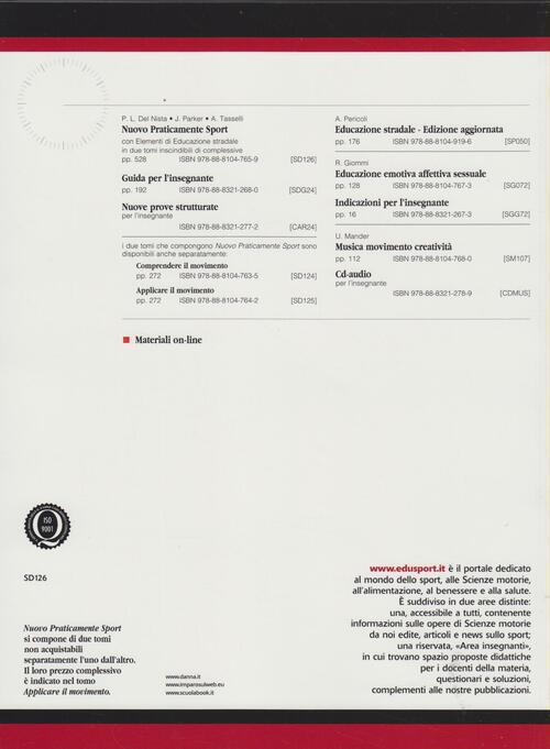 Nuovo praticamente sport p luigi del nista june for Nuovo arredo andria catalogo