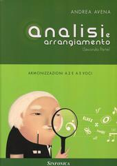 Analisi e arrangiamento. Vol. 2  - Andrea Avena Libro - Libraccio.it