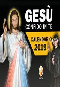 Calendario A Strappo.Gesu Confido In Te Calendario A Strappo 2019