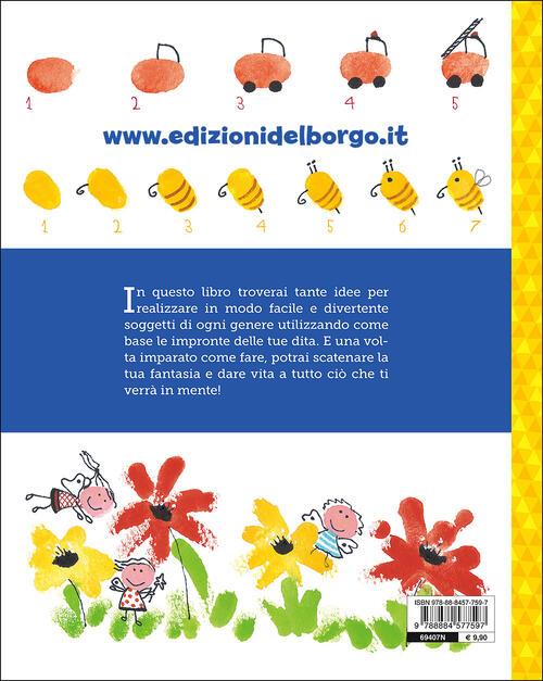 Disegnare Con Le Impronte Corso Di Disegno Per Bambini Rosa Maria