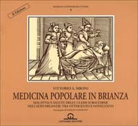 Image of Medicina popolare in Brianza. Medicina e sanità delle classi subal..
