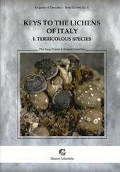 Keys to the lichens of Italy. Vol. 1: Terricolous species.