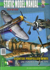 Static model manual. Ediz. italiana e inglese. Vol. 14: Fighter propeller WWII. One hundred and one tips.