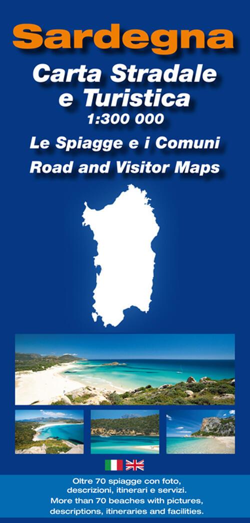 Cartina Sardegna Turistica.Cartina Sardegna Stradale E Turistica 1 300 000 Enrico Spanu Libro Libraccio It