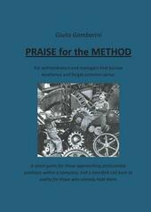 Praise for the method  - Giulio Gambarini Libro - Libraccio.it