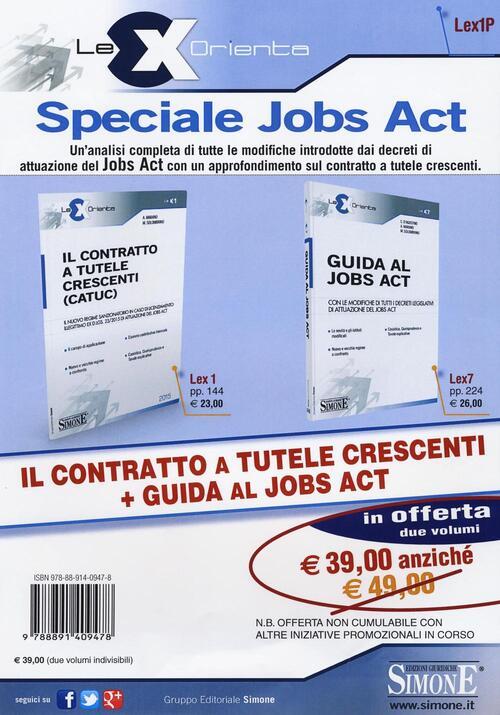Il Contratto A Tutele Crescenti Catuc Guida Al Jobs Act