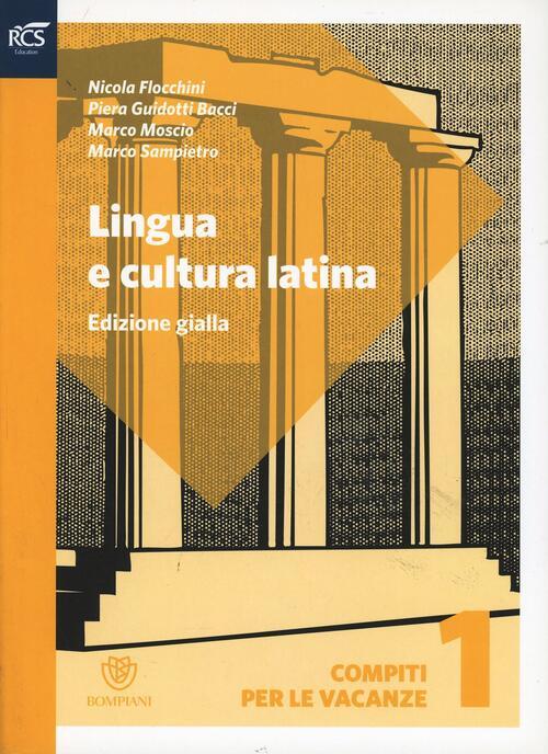 Lingua e Cultura Latina e lessico ed. gialla | Rizzoli ...