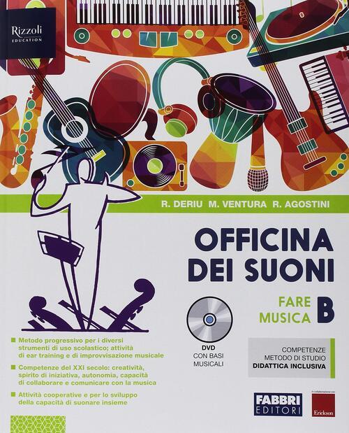 OFFICINA DEI SUONI B +DVD CON BASI MUSICALI