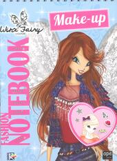Fashion notebook make-up. Winx Fairy Couture. Con adesivi. Ediz. a colori. Ediz. a spirale