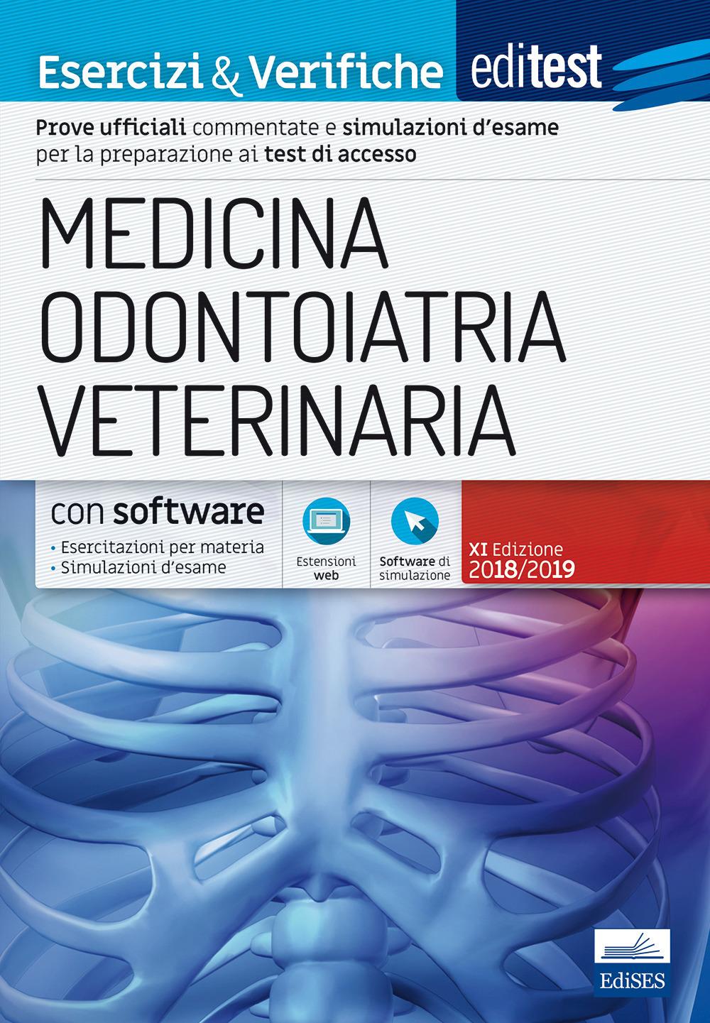 Image of EdiTEST. Medicina, odontoiatria, veterinaria. Esercizi & verifiche..
