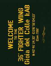 Welcome to the 36th Fighter Wing Gioia del Colle ItAB. Ediz. italiana e inglese