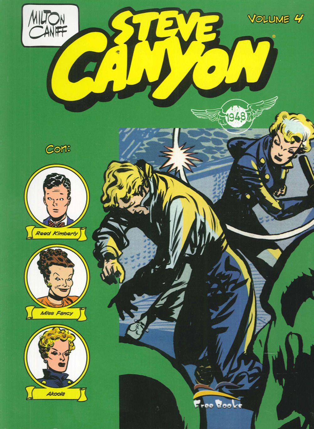 Image of Steve Canyon. Vol. 4