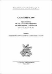 Camsemud 2007. Proceedings of the 13th italian meeting of afro-asiatic linguistic. Udine 2007. Ediz. multilingue
