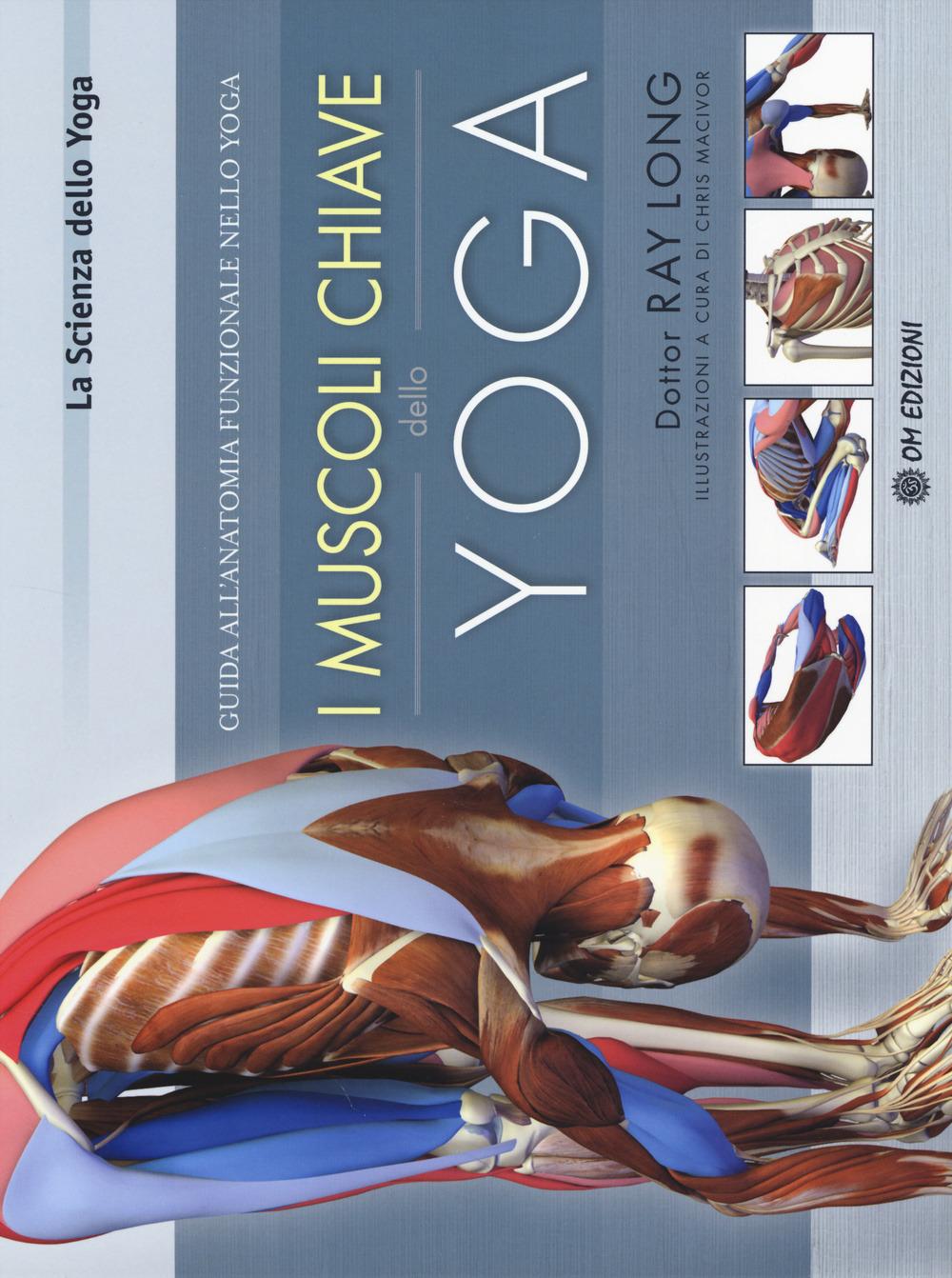 Image of I muscoli chiave dello yoga. Guida all'anatomia funzionale nello yoga
