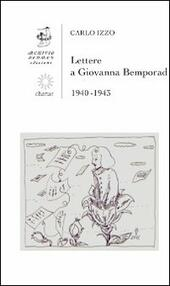 Lettere a Giovanna Bemporad. 1940-1943