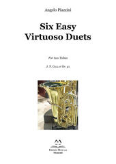 Six Easy Virtuoso Duets for Two Tubas. J. F. Gallay Op. 41