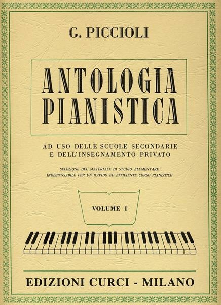 Image of Antologia pianistica